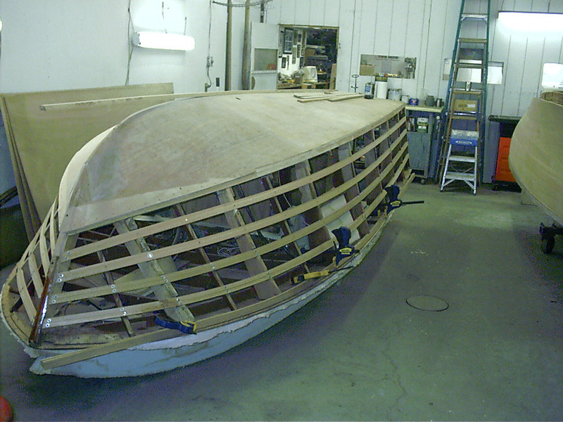 New starboard side battens fit.