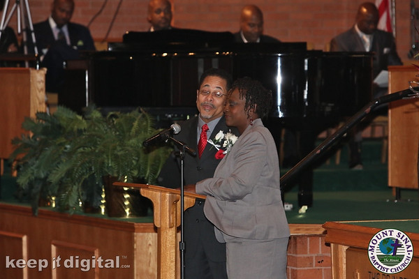 Pastor Wife 27th Anniv_745AM Service