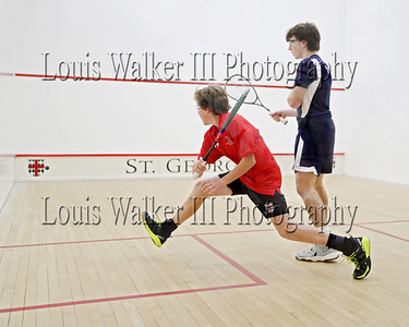 Squash - Prep School Moses Brown at St George's on 12/18/19