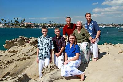Reep Family @ Corona del Mar, CA 10/11/18