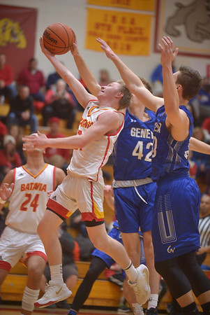 Geneva vs Batavia boys basketball