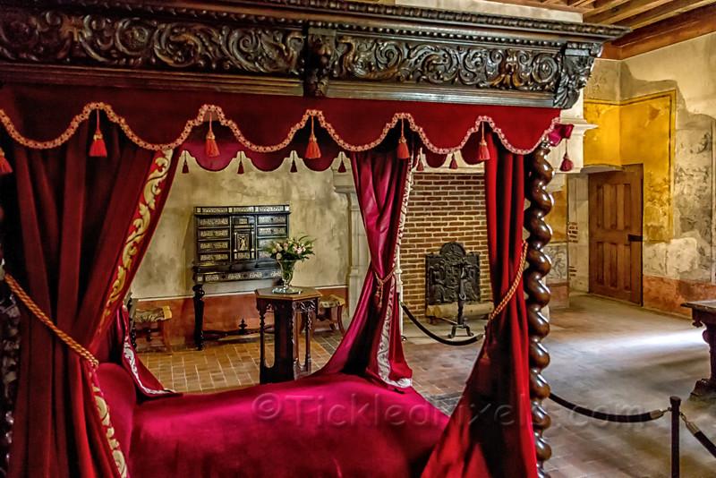 The chamber of Leonardo da Vinci