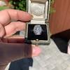1.82ctw Diamond Cluster Ring 17