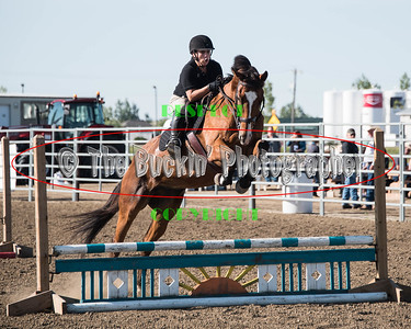 Dunmore Equestrian Center Jumping Exhibition 2016