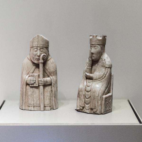 British Museum - The Lewis Chessmen