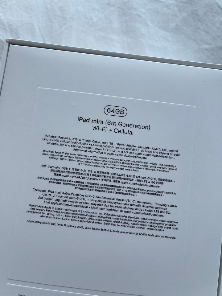 Base Model for iPad mini 6