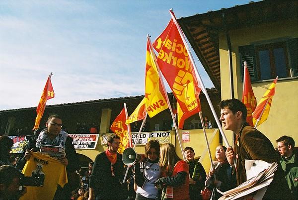 European Social Forum  - Florence  November 2002