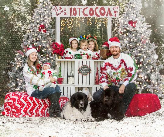 Jennifer and Family 2020 Christmas