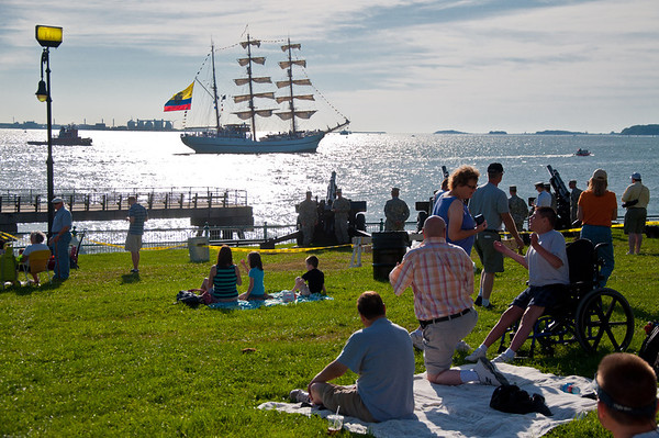 Tall Ships Boston Harbor 2012