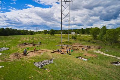 2021 UWL Archaeology Field School Tremaine