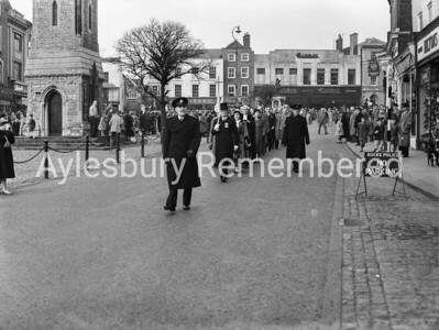 Remembrance Service, Nov 9th 1958