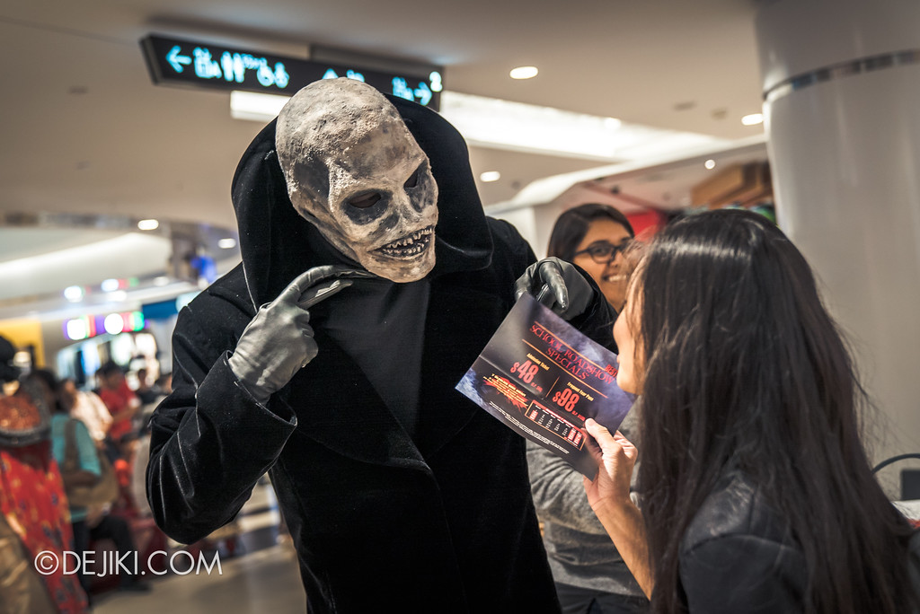 Halloween Horror Nights 7 Before Dark 5 - Scare Actor Meet and Greet HHN7 Icons at Tampines Mall - Lord Obsession offers special discount