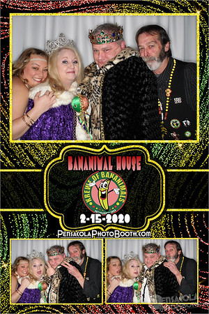 Bananimals Mardi Gras Ball 2-15-20