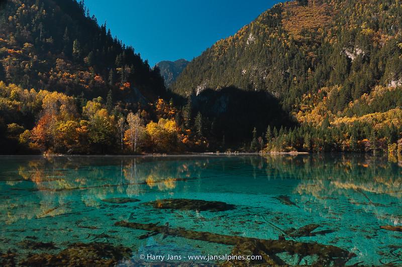 Sichuan,  Jiuzhaigou, Five Flower Lake, 2465m