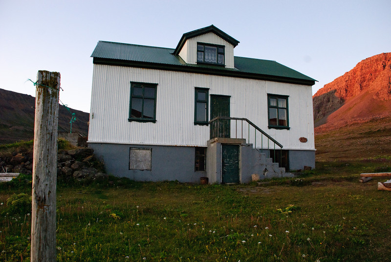 Aðalvík - Þverdalur. Faktorshús. 2010.