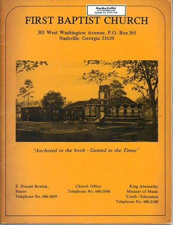 FBCN 1973-74 Directory