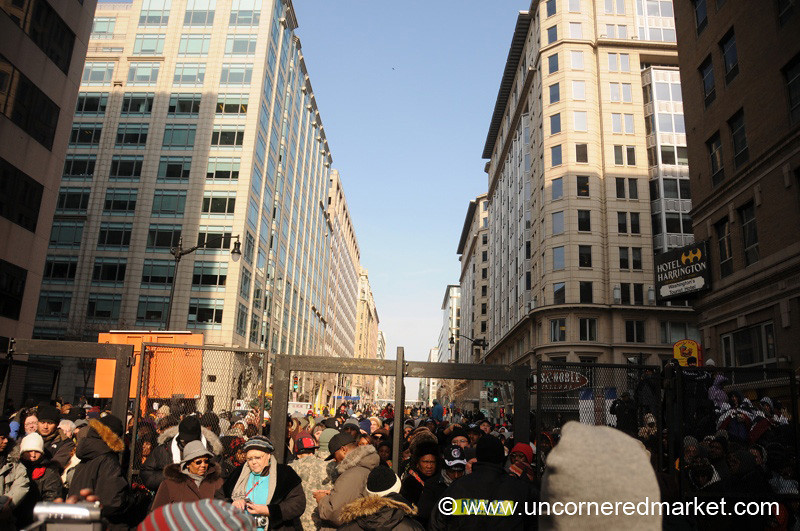 Inauguration Scene - Washington DC, USA
