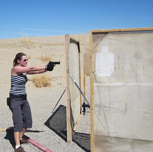 SFA monthly USPSA pistol match May 2012