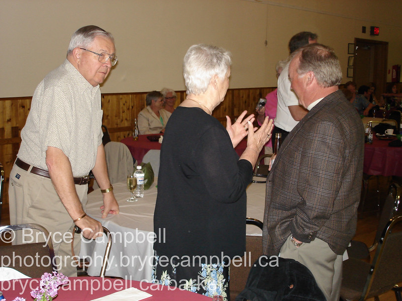 Guy Voyer's 75 Birthday celebration with extended family. Westbank Lions Community Centre May 05, 2006