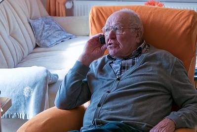 März 2015: Opa Erich wird 79 und lädt zum Chinesen ein