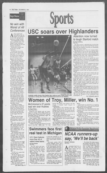 Daily Trojan, Vol. 121, No. 62, December 02, 1993