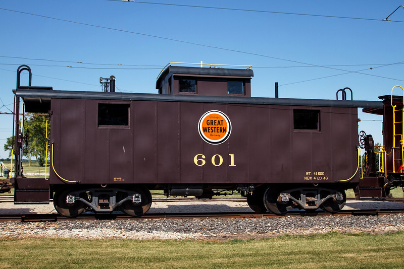 Caboose Great Western