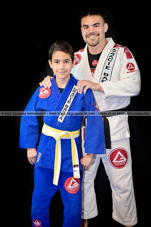 Gracie Barra Woodlands Student Picture Day - December 7, 2012