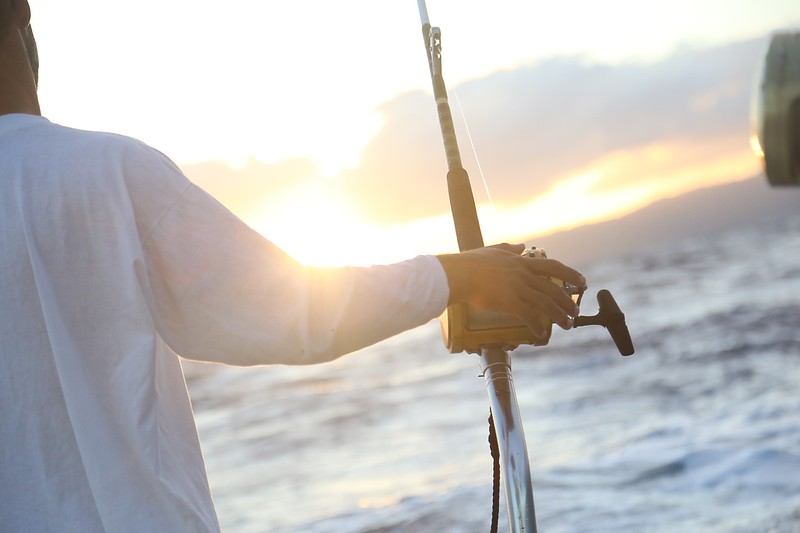 Ocean fishing Adventure Maui