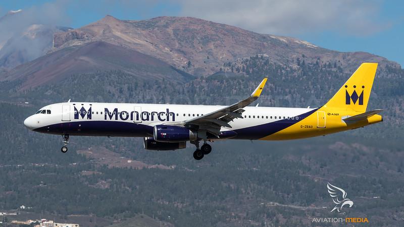 Monarch / Airbus A321-231(WL) / G-ZBAO