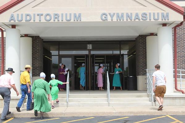 Westview Middle School eighth-grade graduation