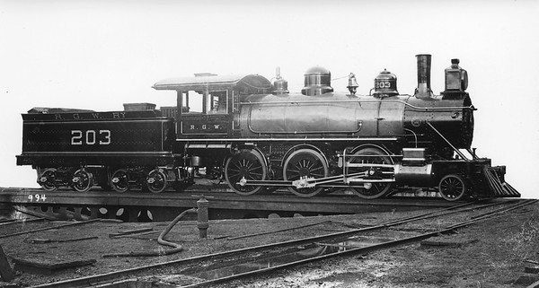 D&RGW Steam Locomotives