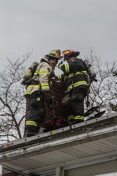 2-2-14 Chimney Fire, Steuben Road
