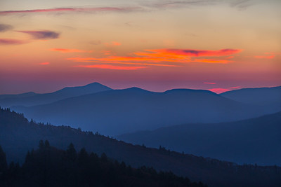 Great Smoky Mountain NP and Blue Ridge Pkway