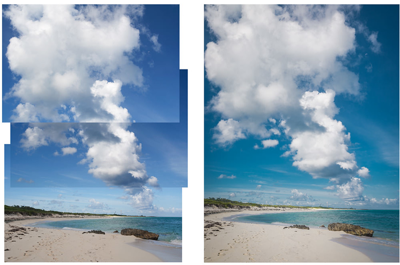 Beach Photography Tip #07. Use Vertical Panorama