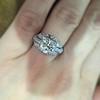 1.95ct Old European Cut Diamond Art Deco Ring, GIA L SI1 2