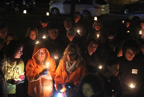Westford gun violence vigil 120617