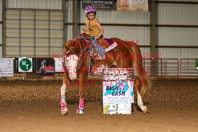 sat 1. Assisted Pee Wee Barrels 2nd