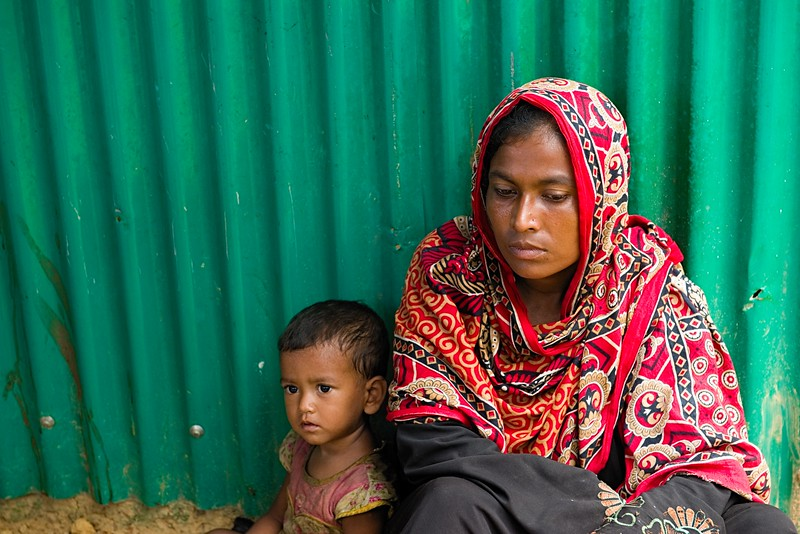 Rohingya Refugee Crisis, Kotupalong Camp, Bangladesh / NRS International