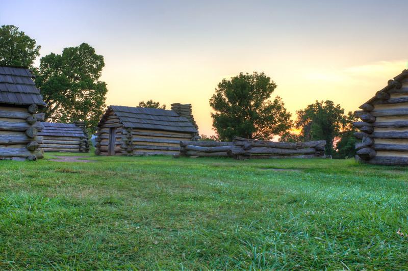 valley forge encampment at sunset.jpg