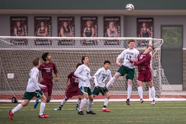 Eastlake JV Soccer Vs Skyline 2018 Away