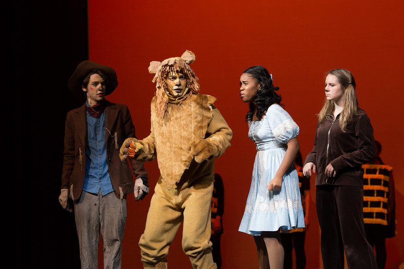 """""""Mean Ole Lion"""" -- """"The Wiz"""", Montgomery Blair High School spring musical, March 26, 2017"""