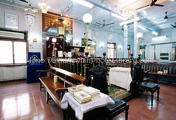 INDIA, Mumbai (Bombay). Tiphaereth (Tifereth) Israel Synagogue, 1886. (2009)