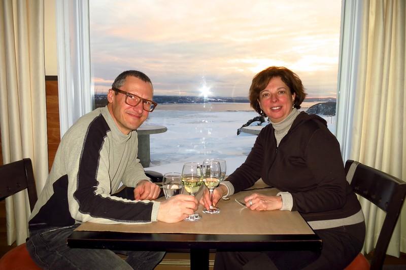 Romantic Dinner at Auberge La Tourelle du Fjord; Saguenay