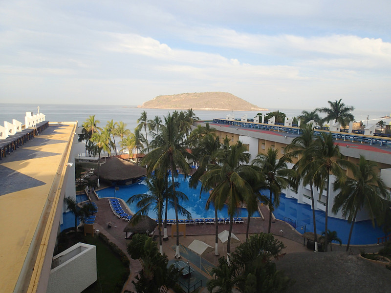 El Cid hotel in Mazatlan where we stayed the last night before catching our flight home.