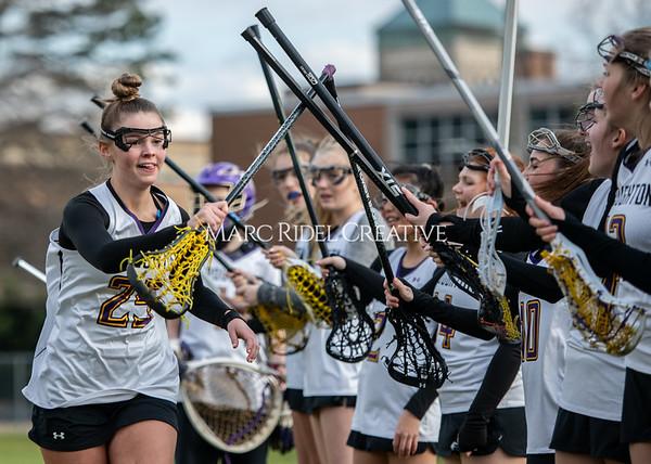 Broughton girls varsity lacrosse vs Middle Creek. February 28, 2020. MRC_5477