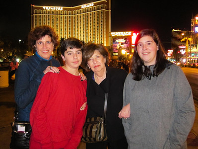 Bess's Birthday in Las Vegas