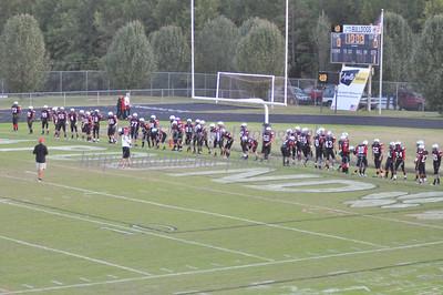2011-10-27 BHS JV Football VS Independence