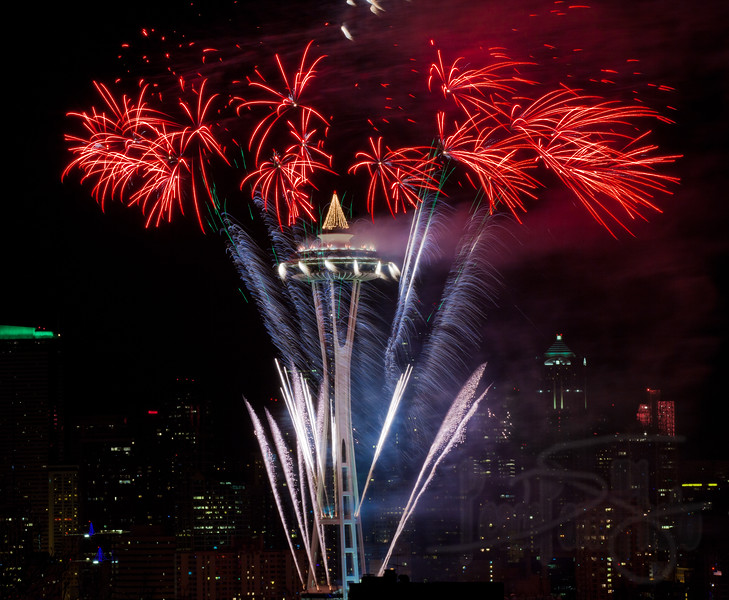 1.1.12 The year started off on Queen Anne Hill at the classic viewpoint of Kerry Park.