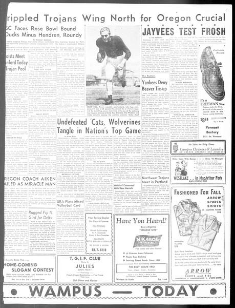 Daily Trojan, Vol. 40, No. 25, October 15, 1948