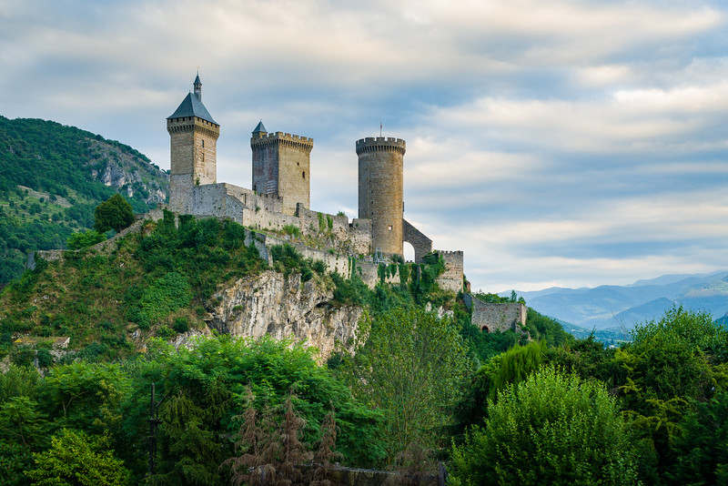 Chateau de Foix, France